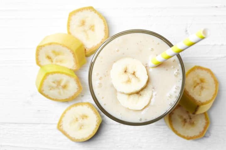 Como Fazer Shake de Banana Com Pasta de Amendoim