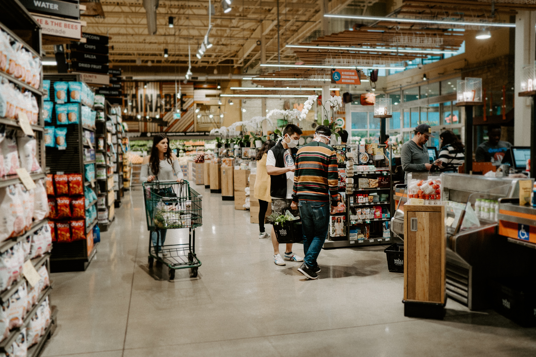 Loja de alimentos saudáveis