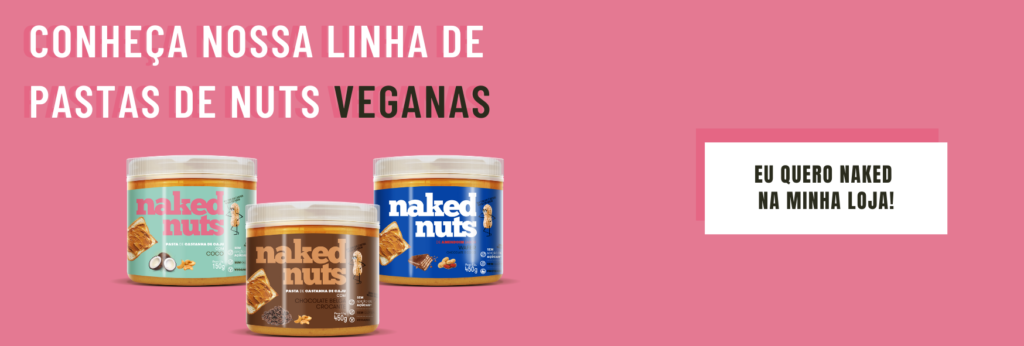 produtos veganos pasta nuts naked nuts