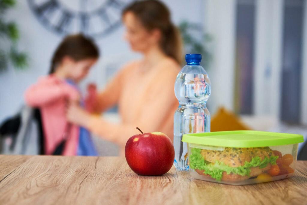 lanche saudável para crianças