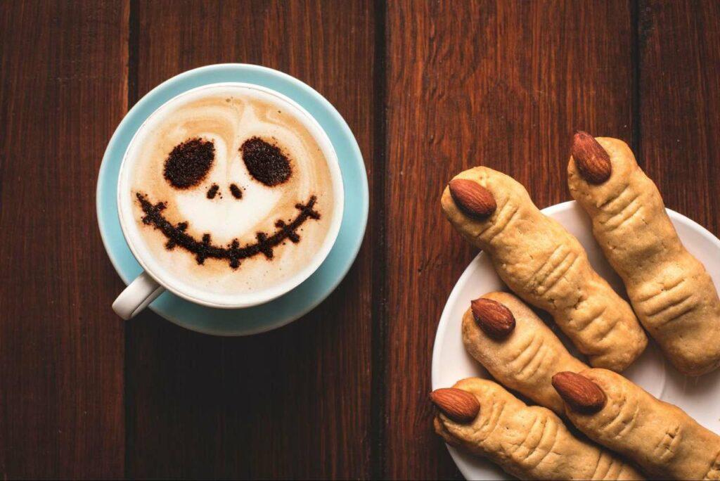 receitas de halloween cookies de dedos